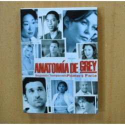 ANATOMIA DE GREY - SEGUNDA TEMPORADA PRIMERA PARTE - DVD