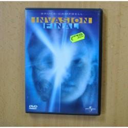 INVASION FINAL - DVD