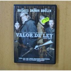 VALOR DE LEY - DVD