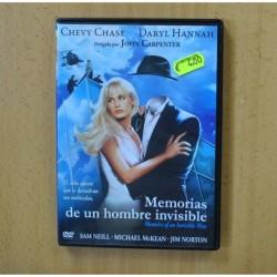 MEMORIAS DE UN HOMBRE INVISIBLE - DVD