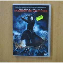 ABRAHAM LINCOLN CAZADOR DE VAMPIROS - DVD