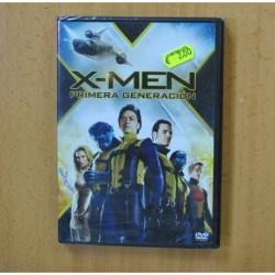 X MEN PRIMERA GENERACION - DVD