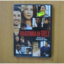 ANATOMIA DE GREY - PRIMERA TEMPORADA - DVD