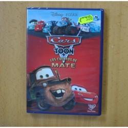 CARS TOON LOS CUENTOS DE MATE - DVD