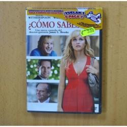 COMO SABES SI - DVD
