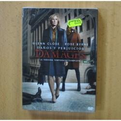DAMAGES - TERCERA TEMPORADA - DVD
