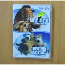 ICE AGE / ICE AGE 2 - DVD