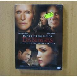 DAMAGES - SEGUNDA TEMPORADA - DVD