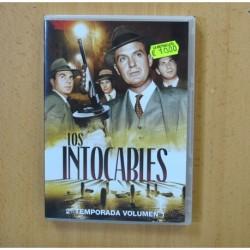 LOS INTOCABLES - SEGUNDA TEMPORADA VOLUMEN 1 - DVD