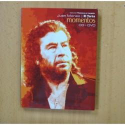 JUAN MONEO EL TORTA - MOMENTOS - CD + DVD