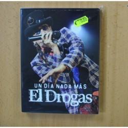 EL DROGAS - UN DIA NADA MAS - 2 CD + DVD