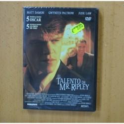 EL TALENTO DE MR RIPLEY - DVD