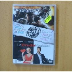 TERMINATOR SALVATION / LA CRUDA REALIDAD - DVD