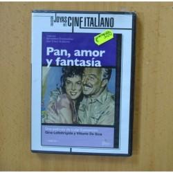 PAN AMOR Y FANTASIA - DVD
