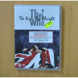 THE WHO - THE KIDS ARE ALRIGHT - DVD