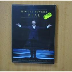 MIGUEL POVEDA - REAL - DVD + CD