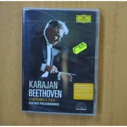 KARAJAN / BEETHOVEN - SYMPHONIES 4 5 & 6 - DVD