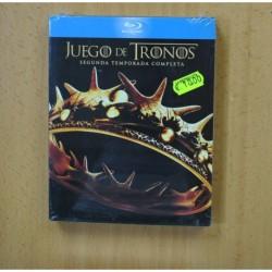JUEGO DE TRONOS - SEGUNDA TEMPORADA - BLURAY