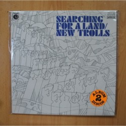 NEW TROLLS - SEARCHING FOR A LAND - PROMO GATEFOLD 2 LP