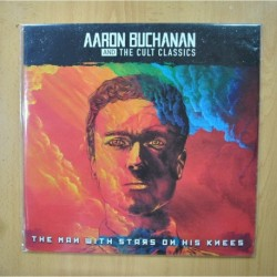 AARON BUCHANAN AND THE CULT CLASSICS ?- THE MAN WITH STARS ON HIS KNEES - VINILO COLOR LP