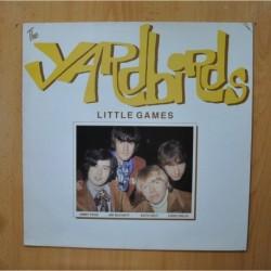 THE YARDBIRDS - LITTLE GAMES - LP