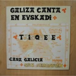 TRISQUELE - GALIZA CANTA EN EUSKADI - LP