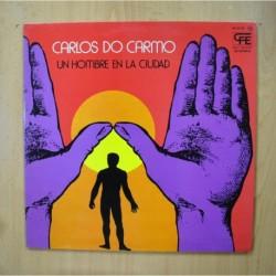 CARLOS DO CARMO - UN HOMBRE EN LA CIUDAD - GATEFOLD LP