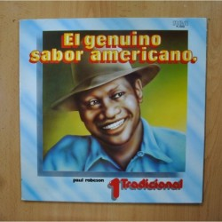 PAUL ROBESON - EL GENUINO SABOR AMERICANO - LP