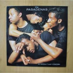 THE PASADENAS - TO WHOM IT MAY CONCERN - LP