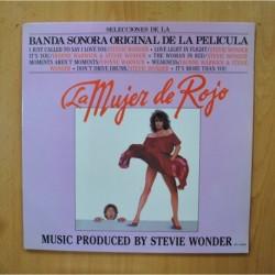 STEVIE WONDER - LA MUJER DE ROJO - LP