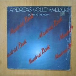 ANDREAS VOLLENWEIDER - DOWN TO THE MOON - LP