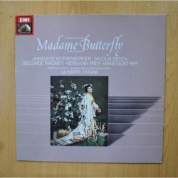 PUCCINI - MADAME BUTTERFLY - LP