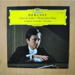 DEBUSSY - CLARO DE LUNA / PIEZAS PARA PIANO - LP