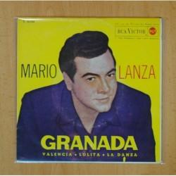 MARIO LANZA - GRANADA + 3 - EP