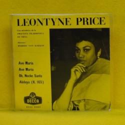 LEONTYNE PRICE - AVE MARIA + 3 - EP