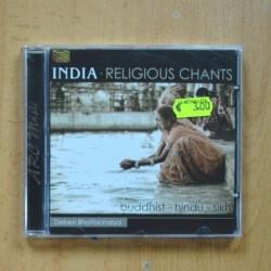VARIOS - INDIA RELIGIOUS CHANTS - CD