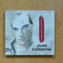 JUAN CARMONA - PERLA DE ORIENTE - CD
