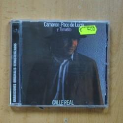 CAMARON / PACO DE LUCIA / TOMATITO - CALLE REAL - CD