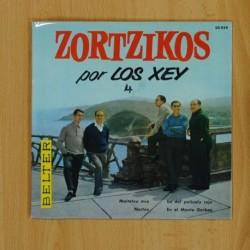 LOS XEY - ZORTZIKOS - MAITETXU MIA + 3 - EP