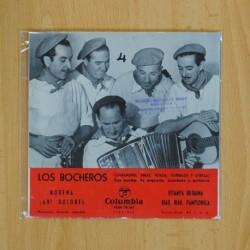LOS BOCHEROS - MORENA + 3 - EP