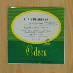 LOS CHIMBEROS - COSAS DEL MAR + 3 - EP