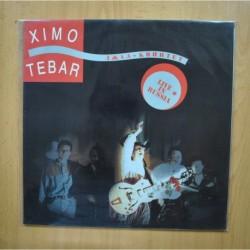 XIMO TEBAR - LIVE IN RUSSIA - LP