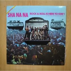 SHA NA NA - ROCK & ROLL IS HERE TO STAY - LP