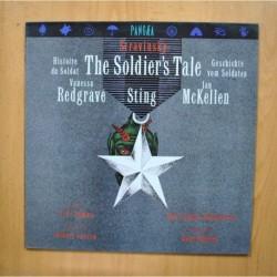 STRAVINSKY / VANESSA REDGRAVE / STING / IAN MCKELLEN ?- THE SOLDIERS TALE / HISTOIRE DU SOLDAT / GESCHICHTE VOM SOLDATEN - LP