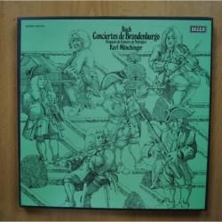 BACH / KARL MUNCHINGER - CONCIERTOS DE BRANDENBURGO - BOX 2 LP