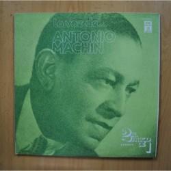 ANTONIO MACHIN - LA VOZ - GATEFOLD 2 LP