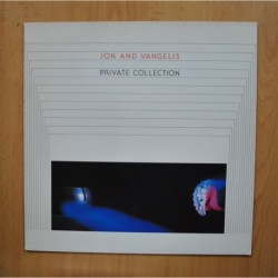 JON AND VANGELIS - PRIVATE COLLECTION - LP