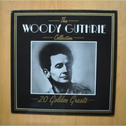 WOODY GUTHRIE - 20 GOLDEN GREATS - LP