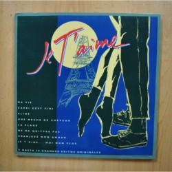 VARIOS - JE T AIME - LP