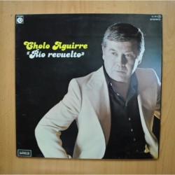 CHOLO AGUIRRE - RIO REVUELTO - PROMO GATEFOLD LP